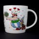 Taza Könitz Asterix I'am in Love, 340 ml, porcelana