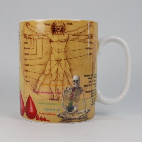 Taza / Mug Könitz Knowledge Medicine, 450 ml, porcelana