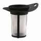 Filtro Bodum New Yo-Yo c/ Tapa 1790-01B, negro, plástico BPA Free