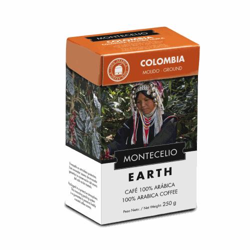 Café Montecelio Earth Colombia, molido, 250 g