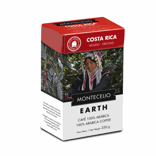 Café Montecelio Earth Costa Rica, molido, 250 g