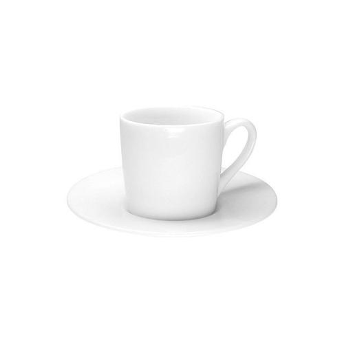 Taza c/ Plato Espresso Könitz PW, 80 ml, porcelna