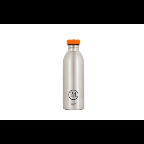 Botella 24Bottles Urban Steel, 500 ml, acero inoxidable