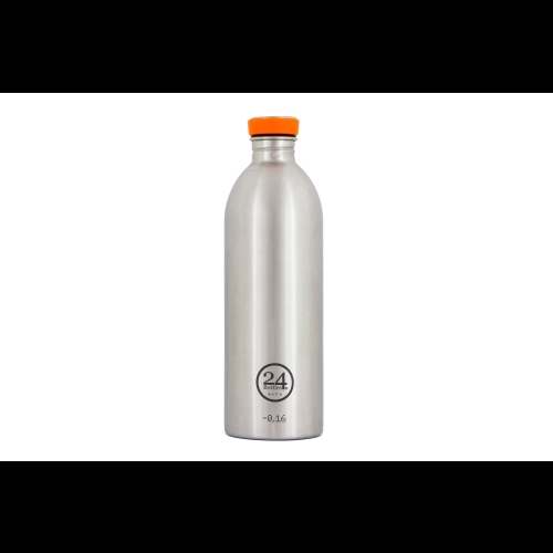 Botella 24Bottles Urban Steel, 1.000 ml, acero inoxidable
