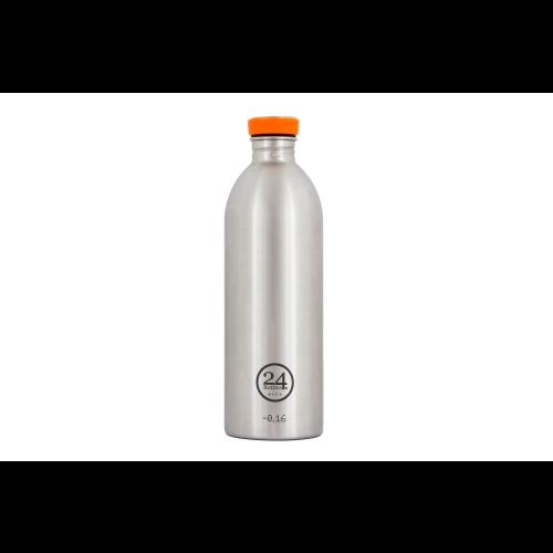 Botella 24Bottles Urban Steel, 1.000 ml, acero inoxidable