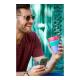 Vaso Reutilizable KeepCup Watermelon, 454 ml, rojo/verde/violeta, plástico BPA Free