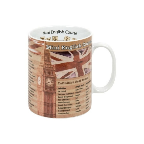 Taza / Mug Könitz Knowledge English Course, 450 ml, porcelana