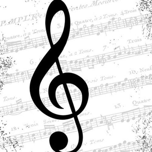 Servilleta PPD I Love Music, 330 x 330 mm