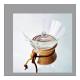 Tapa Chemex Cristal,  Ø 73 mm, cristal templado