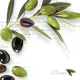 Servilleta PPD Green Olives, 250 x 250 mm