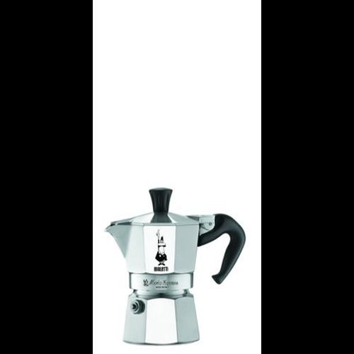 Cafetera Bialetti Moka Express, 1 taza, aluminio
