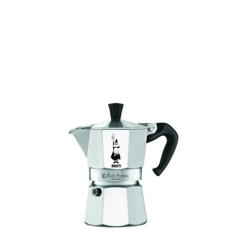 Cafetera Bialetti Moka Express, 3 tazas, aluminio