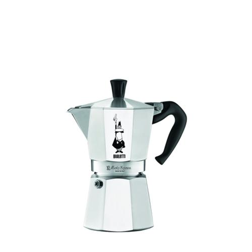 Cafetera Bialetti Moka Express, 6 tazas, aluminio
