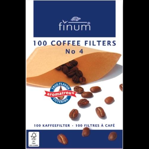 Filtro Papel Finum p/ café Nº 4, 100 unidades