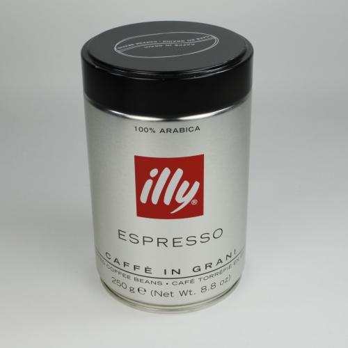 Café Illy Tueste Oscuro, grano, 250 g