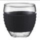 Vasos Bodum Pavina 11165-01, 100  ml, set 2, negro, borosilicato