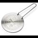 Adaptador  p / Cocina Inducción Frabosk, Ø 220 mm, acero inoxidable