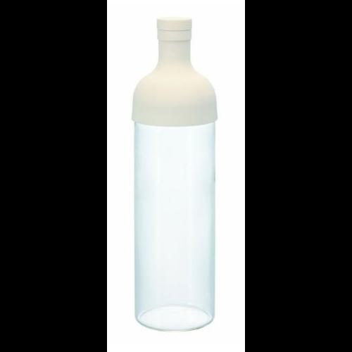 Botella Maceración Hario FIB-75-0W, 750 ml, cristal-silicona, blanco