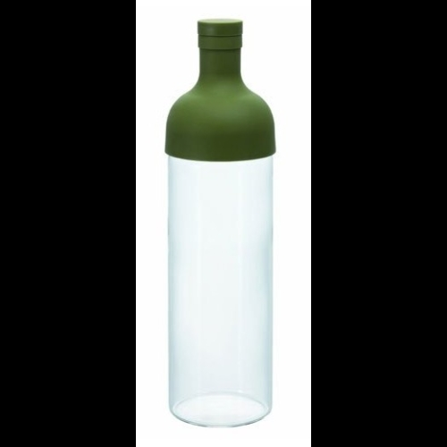 Botella Maceración Hario FIB-75-0G, 750 ml, cristal-silicona, verde