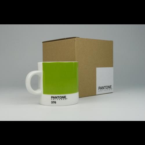 Taza Espresso Pantone Verde 376, 100 ml, porcelana
