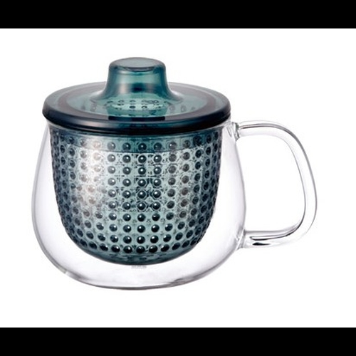 Taza c/ Filtro Kinto Unimug, 350 ml, azul