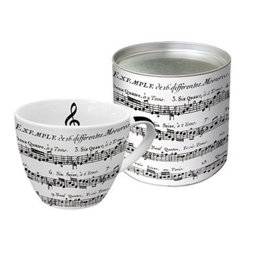 Taza Desayuno PPD Adagio, 500 ml, porcelana