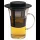 Taza c/ Filtro Finum Bistro System, 280 ml, borosilicato