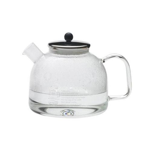 Calentador / Hervidor Agua Trendglas, 1,75 l, borosilicato, tapa acero inoxidable