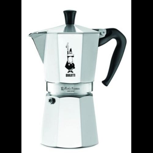 Cafetera Bialetti Moka Express, 12 tazas, aluminio