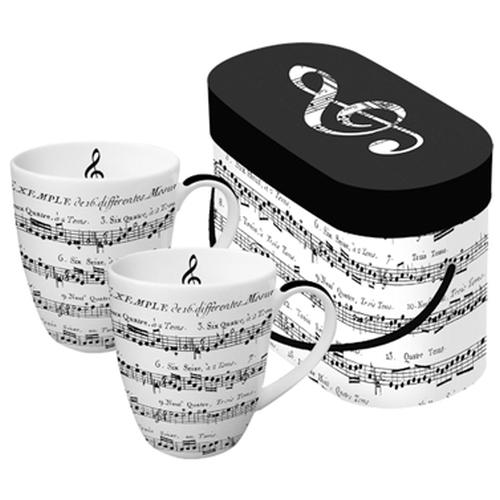 Tazas PPD Adagio, set 2, 250 ml, porcelana