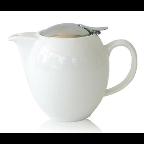 Tetera Zero Japan, 350 ml, cerámica, blanco