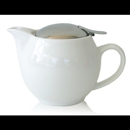Tetera Zero Japan, 450 ml, cerámica, blanco