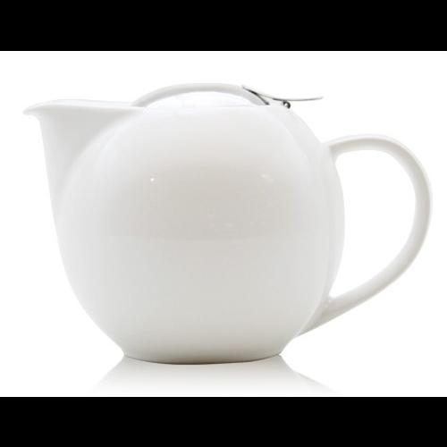 Tetera c/ filtro Zero Japan, 1.000 ml, cerámica, blanco