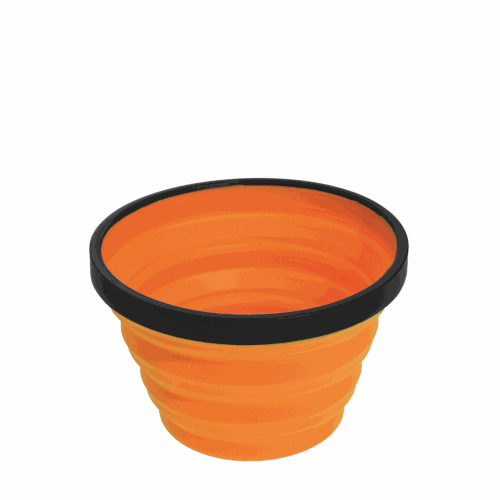Vaso Plegable Sea To Summit XCup, 250 ml, naranja, silicona/nylon BPA Free