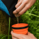 Vaso Plegable Sea To Summit XCup, 250 ml, naranja, silicona/nylon BPA Free