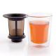 Vaso Finum c/Ffiltro Smart Brew System, doble capa, 180 ml, borosilicato