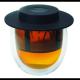 Vaso Finum doble capa c/filtro Hot Glass System, 200 ml, borosilicato