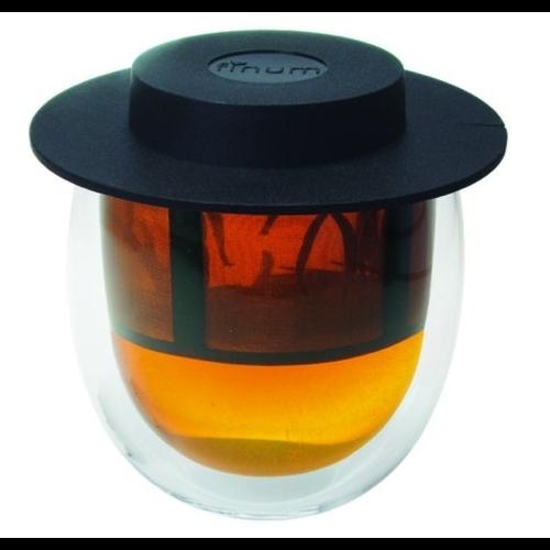 Vaso c/ Filtro Finum Hot Glass System, 200 ml, doble capa borosilicato