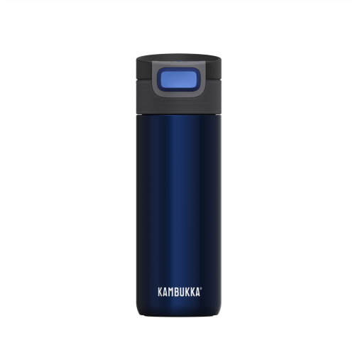 Vaso Termico Kambukka Etna Midnight 11-01005, 500 ml, azul, acero inoxidable, BPA free