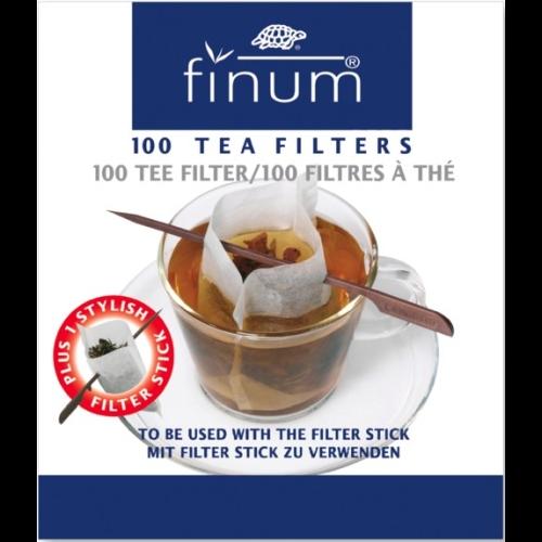 Filtro Papel Finum c/stick, 100 unds