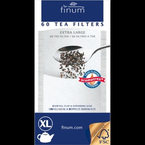 Filtro Papel Finum XL, 60 unidades