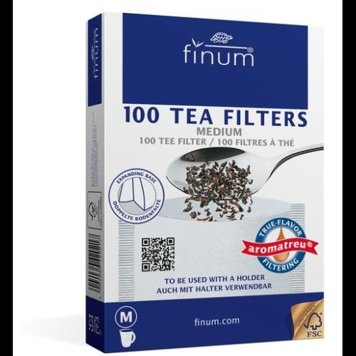 Filtro Papel p/ Taza Finum, M, 100 unidades