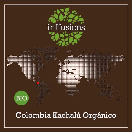 Café de Origen Colombia Kachalú Orgánico, grano, 250 g