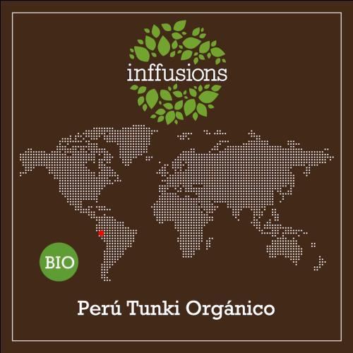 Café de Origen Perú Tunki Orgánico, grano, 250 g