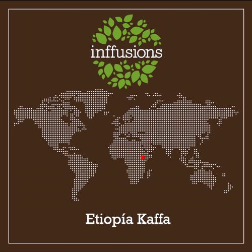 Café de Origen Etiopía Kaffa, grano, 250 g