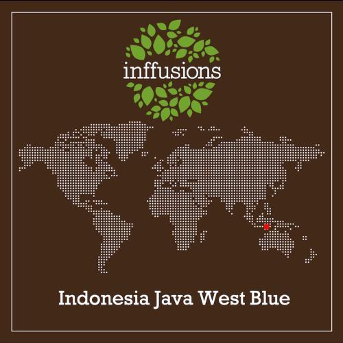 Café de Origen Indonesia Java West Blue, grano, 250 g