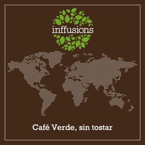 Café Verde de Origen Brasil, sin tostar, grano, 250 g