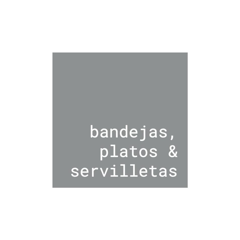 Bandejas, Platos y Servilletas